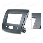 Stereo Facia for Peugeot 4007 Mitsubishi Citroen C-Crosser Fascia Panel Fitting CD Kit Trim