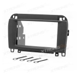 Double Din Mercedes-Benz SL-klasse (R230) Radio Black Fascia Panel Adaptor for Car Stereo