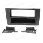 Facia panel for double din and single din JAGUAR X-type and S-type car head unit