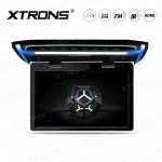 """10.2"""" 1080P Video HD Resolution Digital TFT Screen Wide Screen Ultra-thin Car Roof  Mounted Monitor with HDMI Port"""