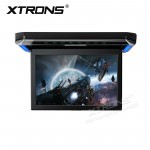 "12.1"" 1080P Video HD Resolution Digital TFT Monitor Wide Screen Ultra-thin Car Roof  Mounted Player with HDMI Port"