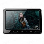 Ultra-thin Design Touch Button Car Headrest DVD Player with HDMI Port