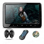 "10.1"" HD Digital TFT Screen Ultra-thin Design Touch Button Car Headrest DVD Player with HDMI Port & One Headphone"
