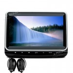 "10"" In Car Touch Button Headrest DVD Players with HDMI Input"