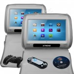 "2*9""Digital Touch Screen Headrest DVD player"