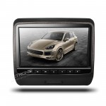 "9"" HD Digital TFT Screen Leather Styled Car Headrest DVD Player with HDMI Port"