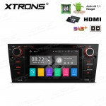 "7""Android 7.1 Quad Core 16GB ROM + 2G RAM HD Digital Touch screen HDMI Car DVD Player Costom Fit for BMW 3 Series"