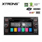 "7""Android 7.1 Quad Core 16GB+DDR3 2G RAM HD Digital Touch screen HDMI Car Stereo Costom Fit for Ford"