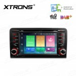 """7"""" HD Digital Octa-Core 64bit 32GB + 2G RAM Android 6.0 Multi Touch Screen Car DVD Player Custom Fit for Audi A3 / S3"""