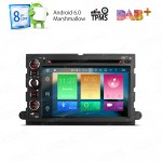 "7"" HD Digital Octa-Core 64bit 32GB + 2G RAM Android 6.0 Multi Touch Screen Car DVD Player Custom Fit for  Ford"
