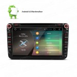 "8"" Android 6.0 Marshmallow Quad Core HD Digital Multi-touch Screen 1080P Video WiFi Car DVD Player with Screen Mirroring & OBD2 for Volkswagen/SEAT/SKODA"