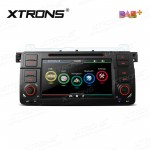 "7""HD Digital Touch screen Built-in DAB + Tuner custom Fit for BMW E46 / Rover 75 / MG ZT"