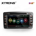 "7""HD Digital Touch screen Built-in DAB + Tuner custom Fit for Mercedes-Benz"