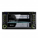 """6.2""""HD Digital Touch Screen DVD Player With GPS Navigation & Screen Mirroring Function For Toyota"""