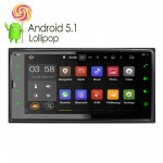 """6.95""""Android 5.1 Lollipop Quad-Core Digital Multi-Touch Screen 1080P Video WiFi Car Navigator with Screen Mirroring Function & OBD2 for Toyota"""