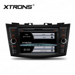 """7"""" HD Digital Touch Screen GPS Navigator Car DVD Player with screen mirroring function Custom Fit for Suzuki"""