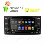"7""Android 5.1 Lollipop 64-bit Operating System  Quad Core Car DVD Player with Screen Mirroring Function& TPMS Function & OBD2 for Volkswagen"