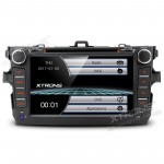 """8""""HD Digital Touch Screen DVD Player With GPS Navigation & Screen Mirroring Function For Toyota Corolla"""
