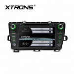 """8"""" HD Digital Touch Screen GPS Navigation Car DVD Player with Screen Mirroring Function Custom Fit for Toyota Prius"""