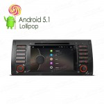 "7""HD Multi-touch Screen Car DVD Player For BMW E53/X5"