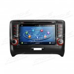"7""Android 5.1 Lollipop Quad Core HD Multi-touch Screen Car DVD Player  with  Full RCA Output & Screen Mirroring Function & OBD2 For Audi TT MK2"