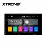 "6.95"" Android 7.1 Quad Core 16GB ROM + 2G RAM HD Digital HDMI multi-Touch screen Double Din Car DVD Player"