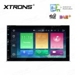 """6.95"""" HD Digital Octa-Core 64bit 32GB + 2G RAM Android 6.0 Double Din Car DVD Player With Screen Mirroring Function & OBD02"""