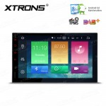 """7"""" HD Digital Octa-Core 64bit 32GB + 2G RAM Android 6.0 Multi Touch Screen Car Stereo with Screen Mirroring Function & OBD2"""