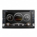 "6.2"" HD Digital TFT Touch Screen Double Din Car DVD Player GPS Navigator with Screen Mirroring Function"