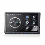 "7"" 1080P Video HD Digital Motorized Touch Screen GPS Double Din Car DVD Player"