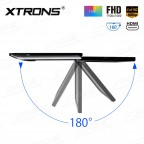"""15.6"""" 1080P Video FHD Digital TFT Monitor Ultra-thin Car Roof  Mounted with HDMI Port"""