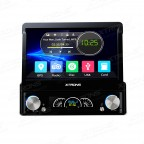 "7"" HD Digital DAB+ Tuner Ready Motorized Detachable Touch Screen Single Din Car DVD Player GPS Navigator"