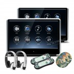 """11.6"""" 1920*1080 HD Digital TFT IPS Touch Panel 1080P Video Car Headrest DVD Player with HDMI Port"""