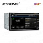 """6.95""""HD Digital Built-in DAB+ Tuner Touch Screen Double Din Car DVD Player"""