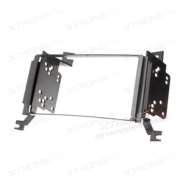 Double Din CD Radio Black Facia Panel Fitting Kit for HYUNDAI Santa Fe with Navigation