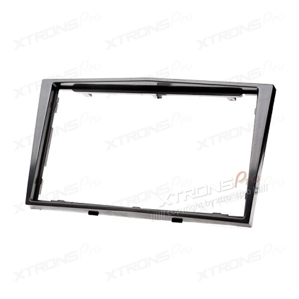 Black Radio Fascia for Opel/Daewoo/GMC Double Din Facia Kit Install Panel Plate