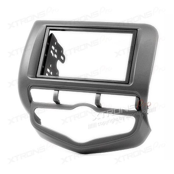 HONDA Fit, Jazz with Auto Air-Conditioning Double Din Stereo Fitting Kit Facia Adaptor Fascia Panel