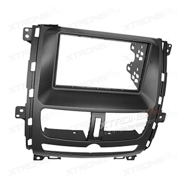 Radio Fascia for NISSAN Shuaike Facia Panel Trim Faceplate Double Din Fascia