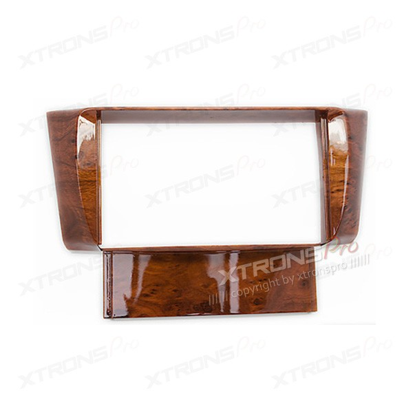 Double Din Fascia Fascia Adaptor Panel Fitting Surround for TOYOTA Celsior / LEXUS LS-430 (without Navigation) ( Wooden )