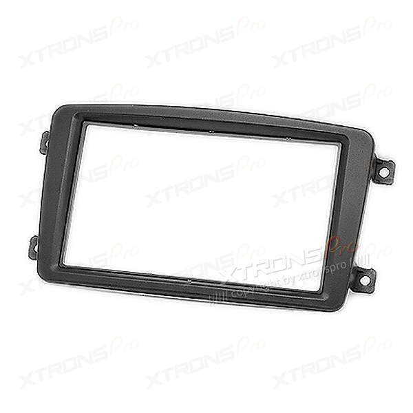 MERCEDES-BENZ C-klasse, CLK-klasse, G-klasse, Viano, Vito Car Stereo Double Din Fitting Kit Adapter Fascia