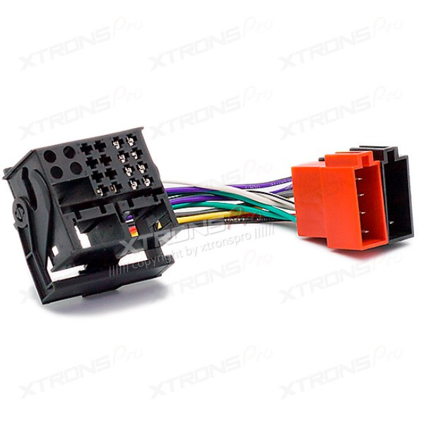 ISO-F Hardness Radio Adapter for CITROEN C2/C3 2003+ / C4/C5 2004+ / PEUGEOT All Models with Most connector