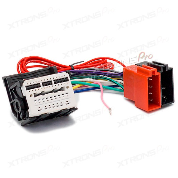 car radio stereo iso wiring loom adapter cable connector. Black Bedroom Furniture Sets. Home Design Ideas