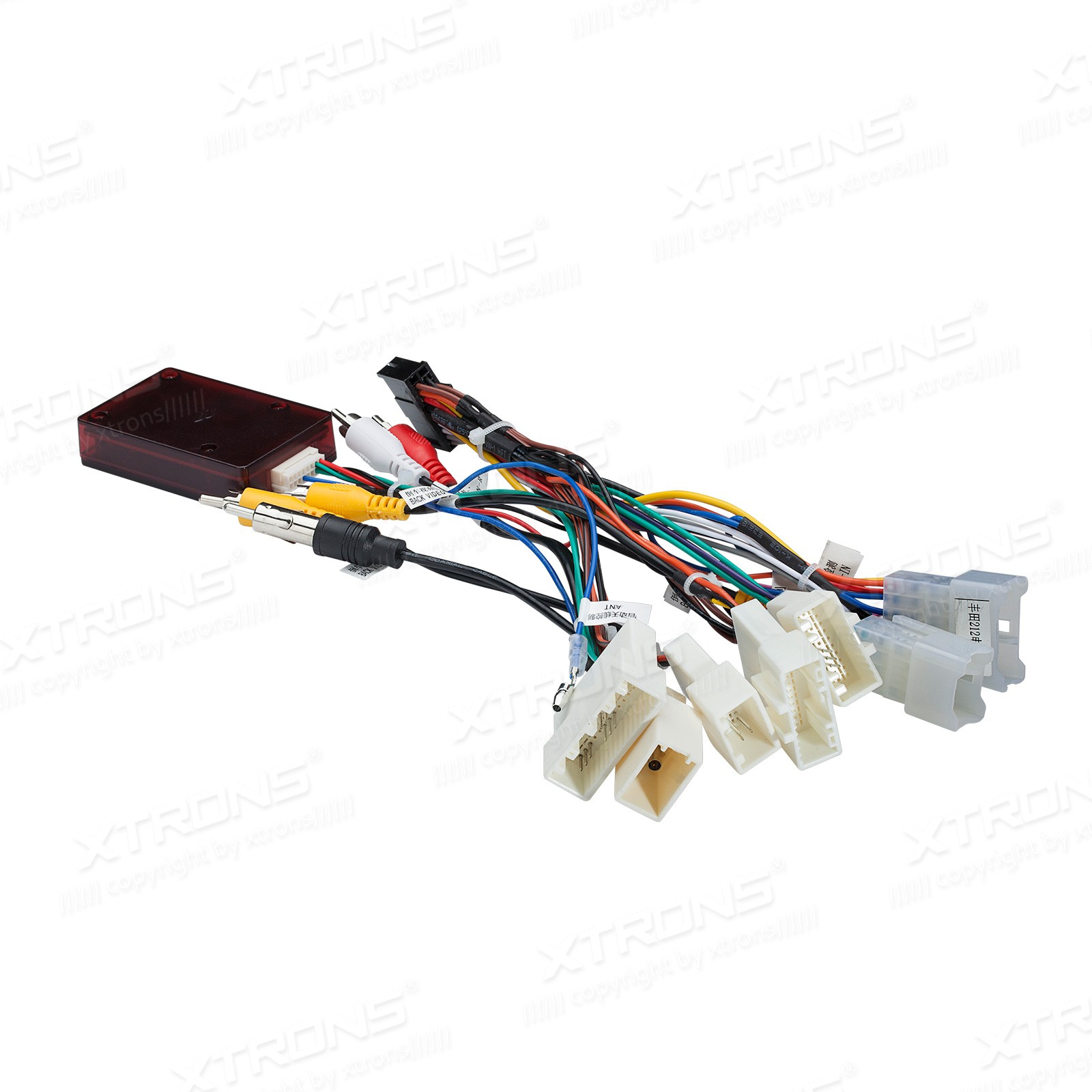 ak pb76hgtap isocbl2012 iso wiring harness jbl decorder for xtrons toyota unit pb76hgtap xtrons wiring harness at gsmx.co