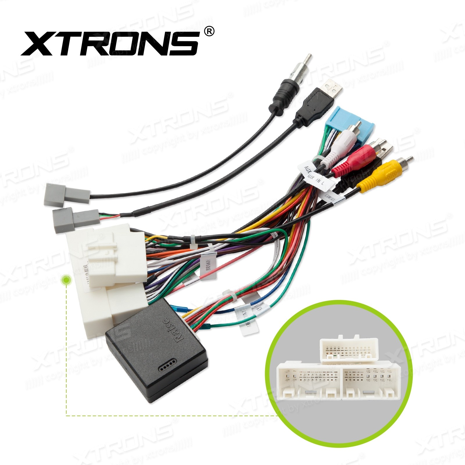 ISO WIRING HARNESS For Kia Sportage Units