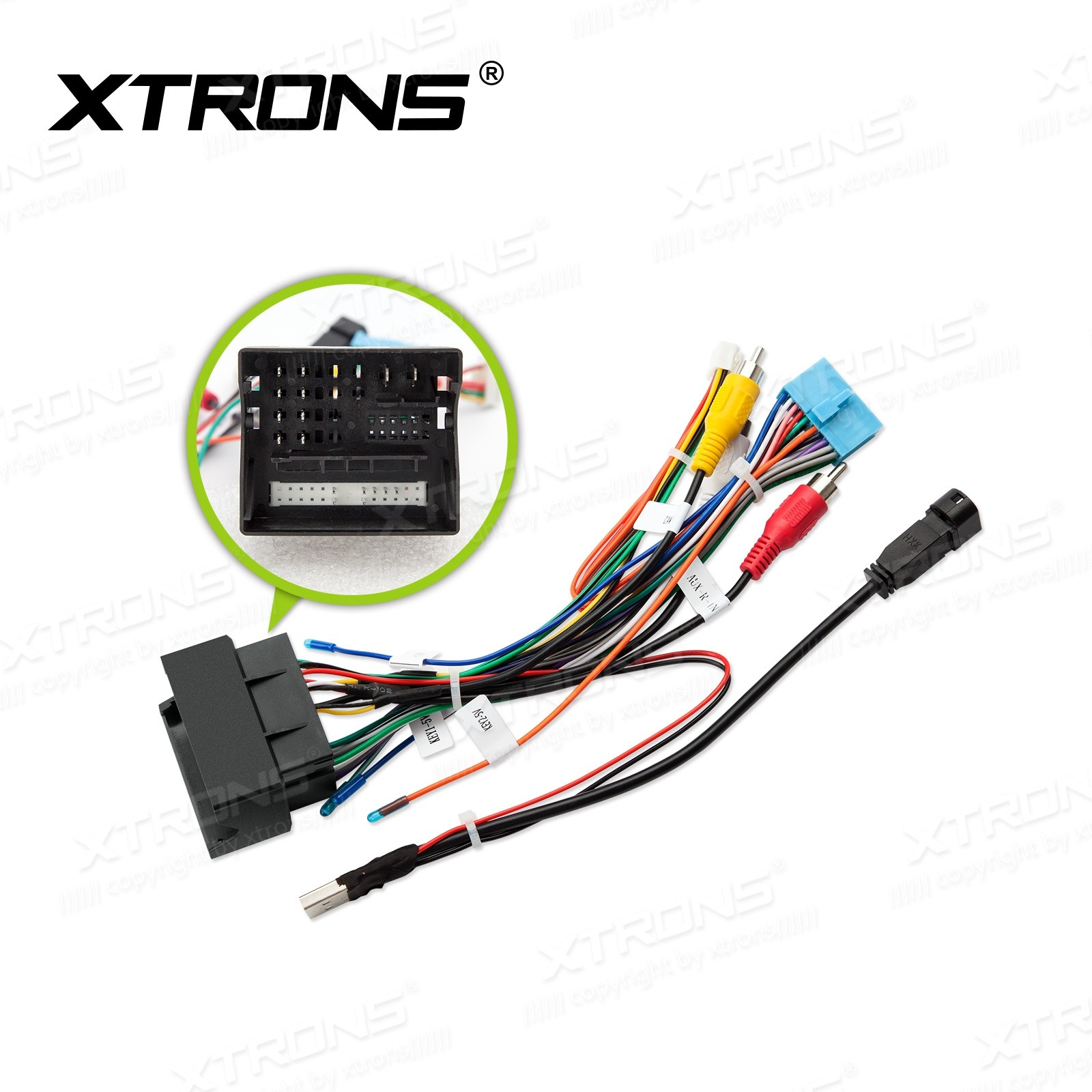 ISO WIRING HARNESS For VW Golf / Skoda Units