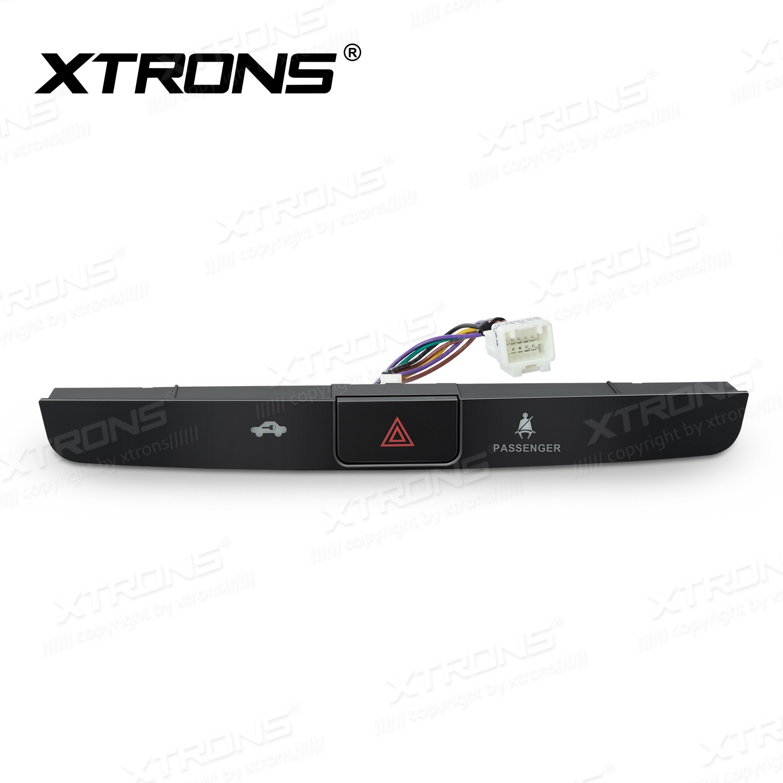 Emergency flashers panel for XTRONS TOYOTA Highlander Unit PR18HDTL