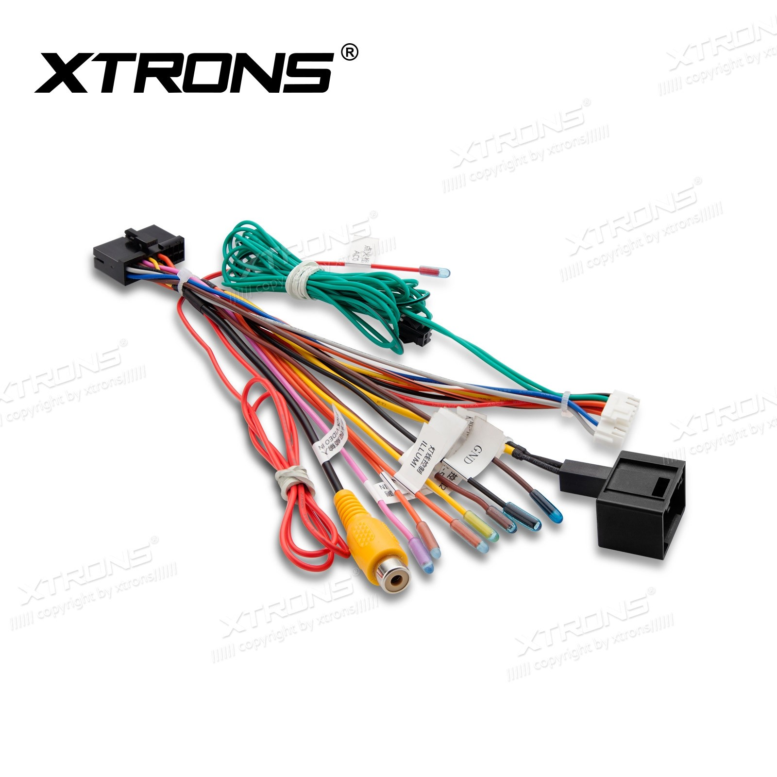Iso Wiring Harness For Xtrons Mercedes Cls Series