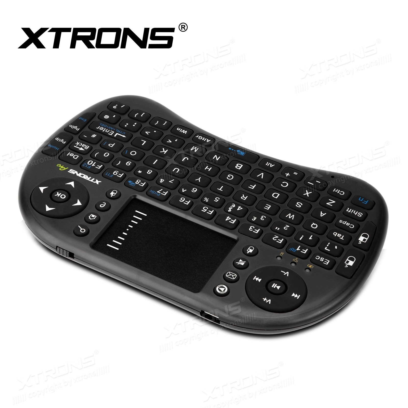 2.4GHz Wireless Mini Keyboard Mouse Touchpad