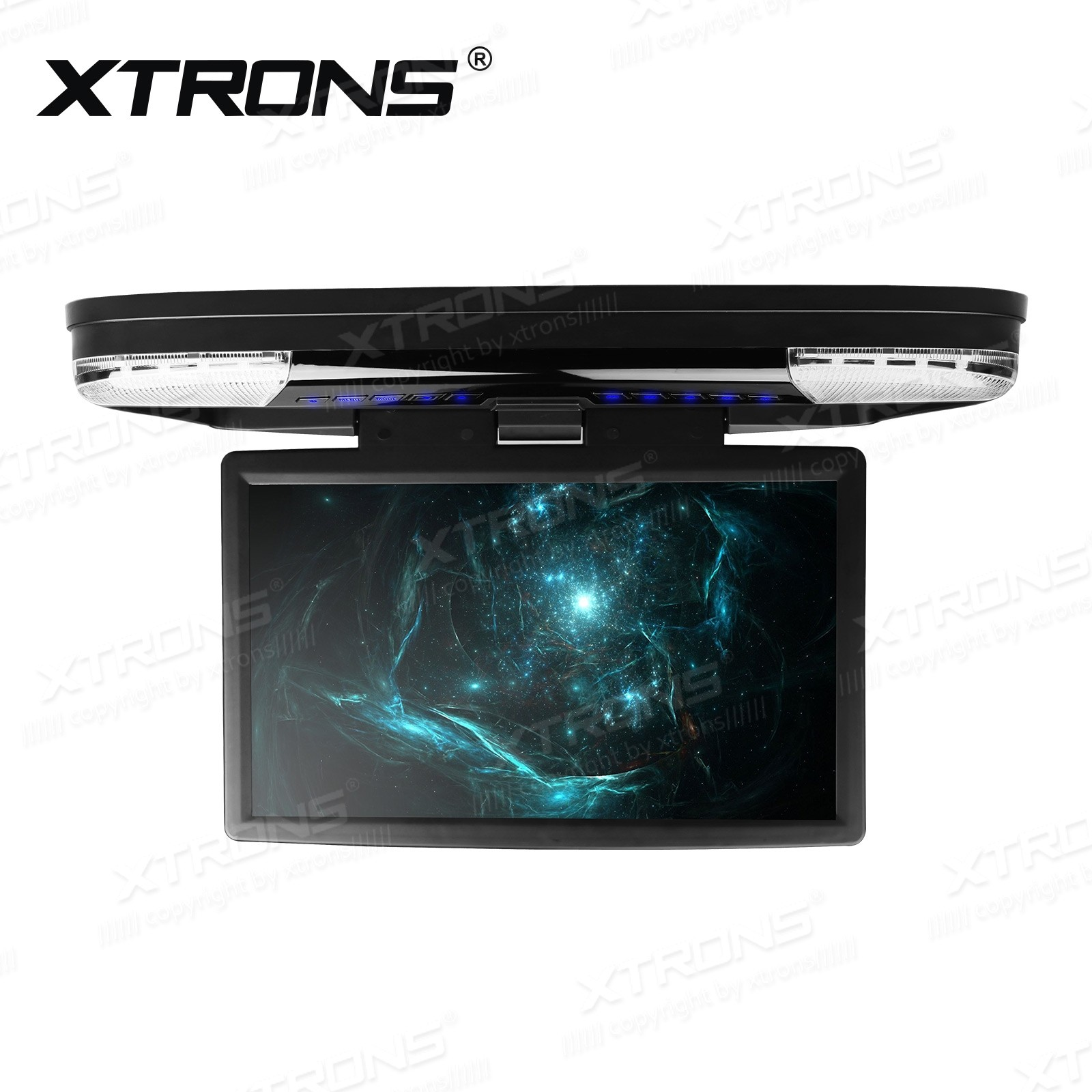 15.6 inch FHD Monitor Car Roof DVD Player with HDMI Port,16:9 TFT Monitor