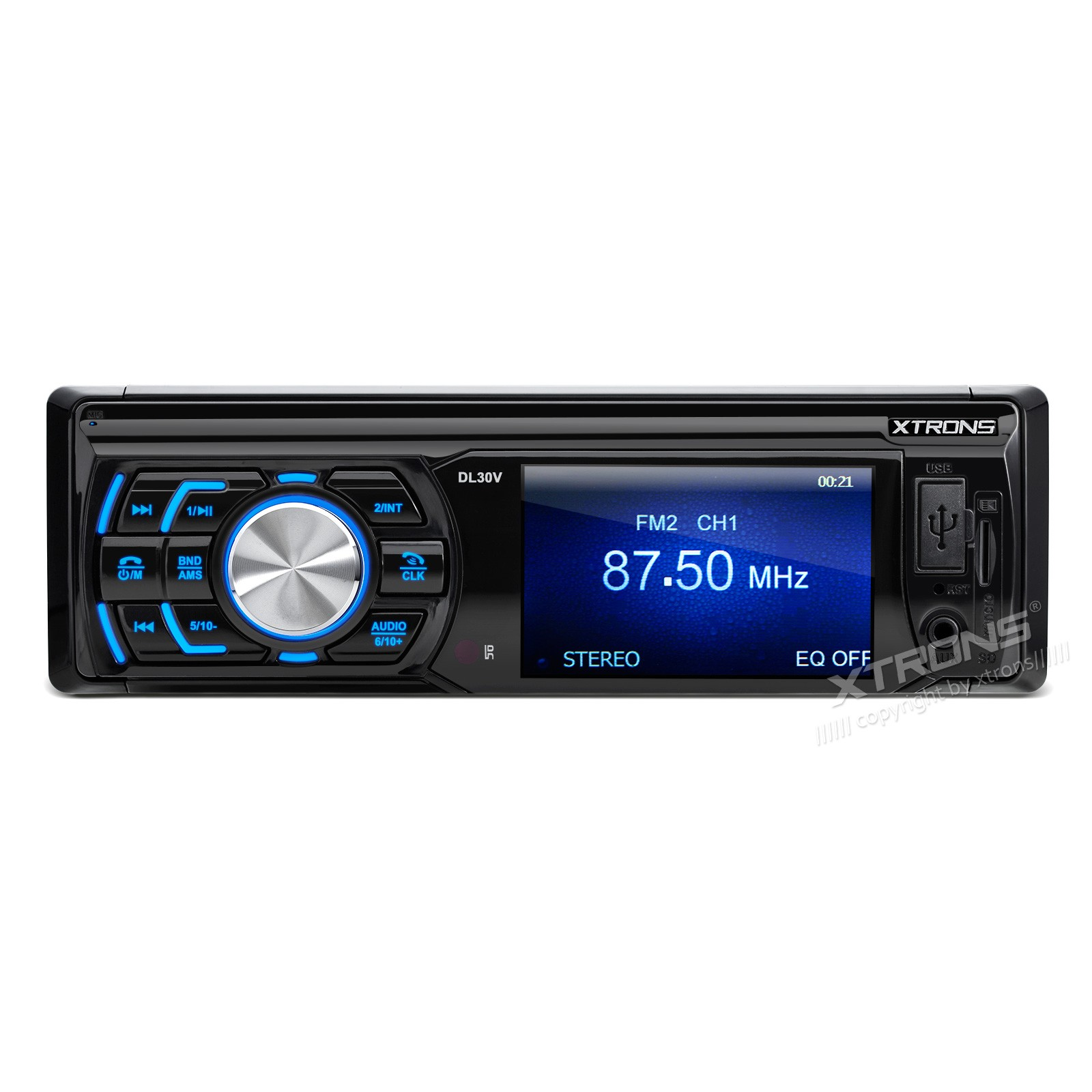 "3"" In Dash HD TFT  Screen 720P Video /FM /USB/ SD  Single Din Car Stereo"